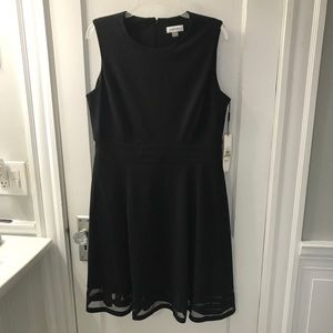 Calvin Klein black dress size 14 NWT